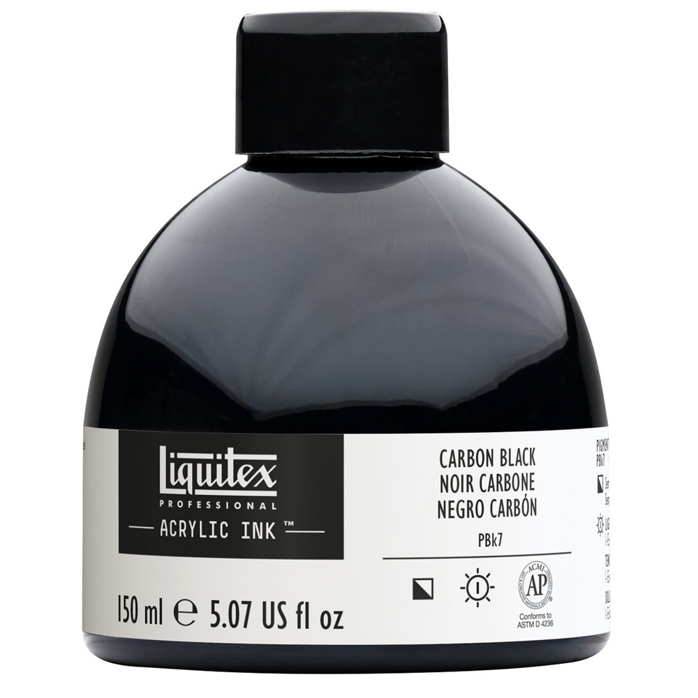 Liquitex Acrylic Ink Carbon black #337 150mL