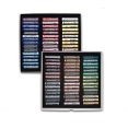 荷蘭林布蘭專業軟粉彩90色(全支裝, 人像色)Rembrandt Artists' Soft pastels 90 col. Whole-Stick Set (PORTRAIT)