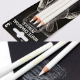 蒙瑪特白色碳筆3支裝Mont Marte White Charcoal Pencils 3 pcs. Set