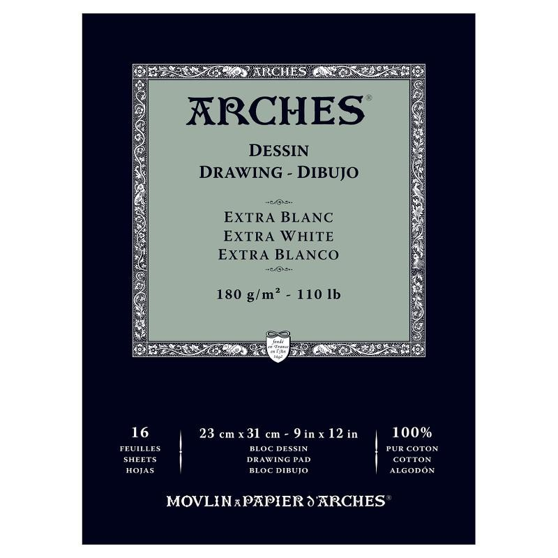 Arches Drawing 畫家級素描簿(特白) 180克 16頁